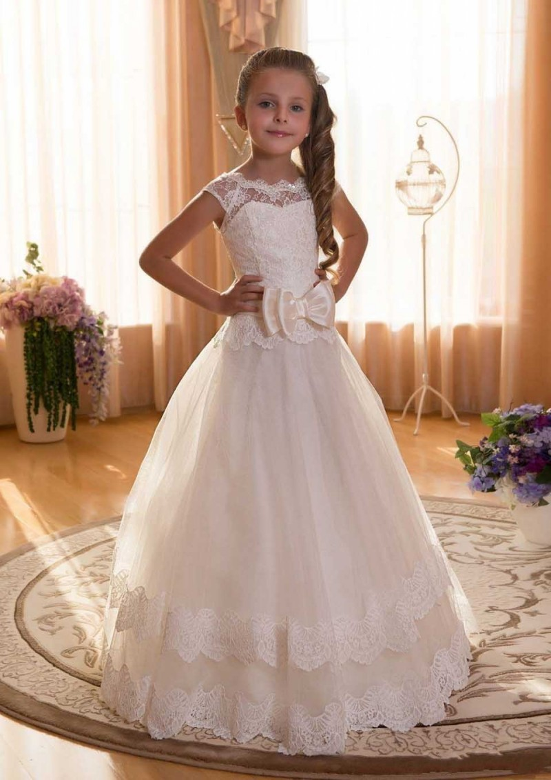 Flower Girl Dress Pretty Flower Girl Dress Lovely Girl Dress