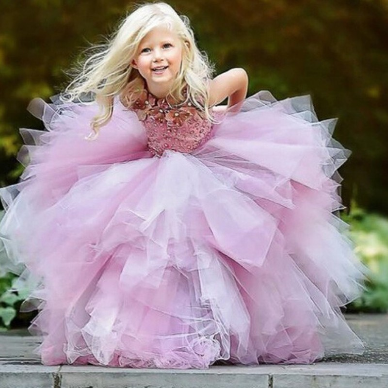 Princess Flower Girl Dresses Purple Flower Girl Dressespretty